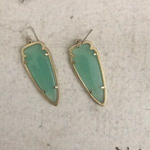 Mint Green Kendra Scott earrings